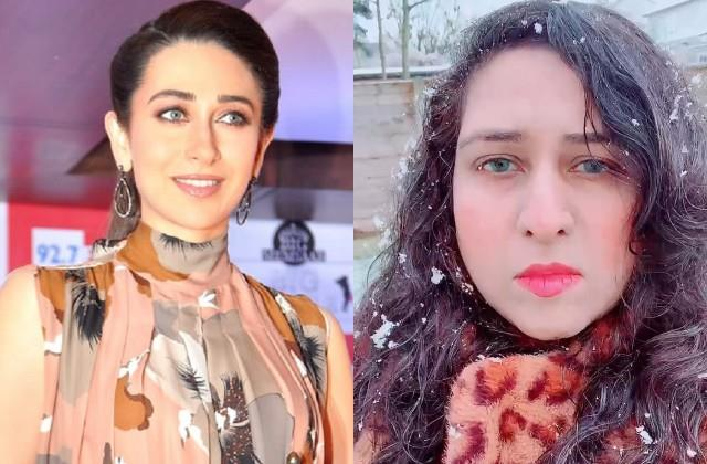 karisma resemble carbon copy pakistani girl heena photos and videos viral