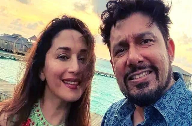 madhuri dixit enjoys vacation with husband shriram nene in maldives