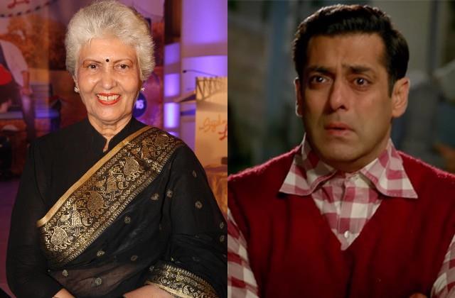 salman khan on screen grandmother shashikala passes away