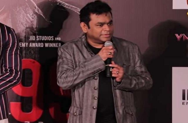 ar rahman gives clarification on hindi protest
