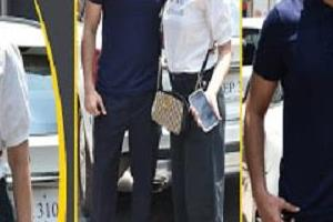 gauhar khan spotted in lokhandwala with husband zaid darbar