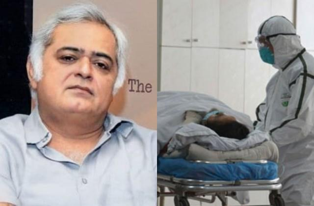 hansal mehta a family member died due to corona