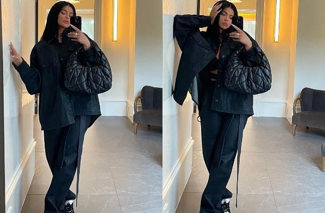 kylie jenner shares her mirror photos