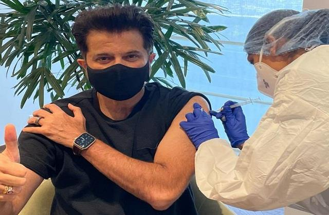 anil kapoor took second dose of corona vaccine