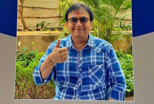 dilip joshi took dose of corona vaccine