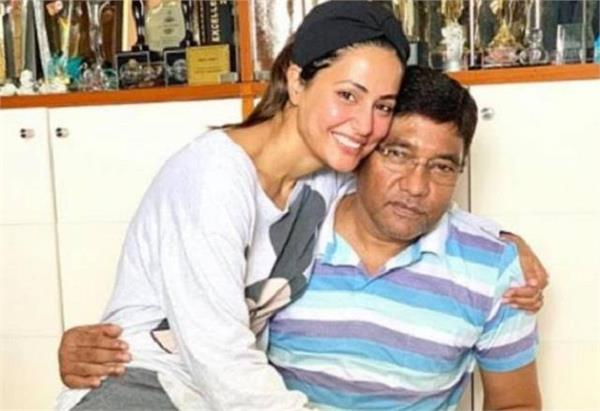 hina khan father passed away