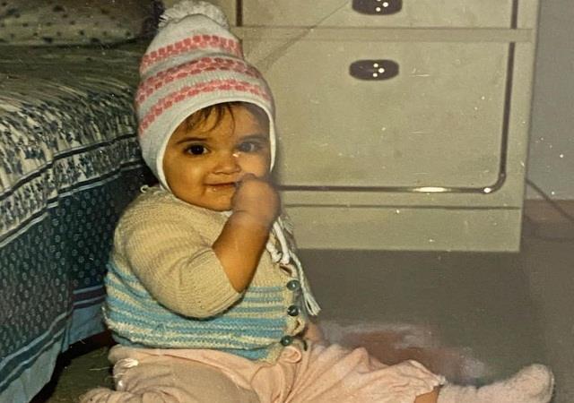 deepika padukone shared the childhood photo
