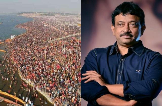 ram gopal varma furious over crowd of kumbh mela in corona