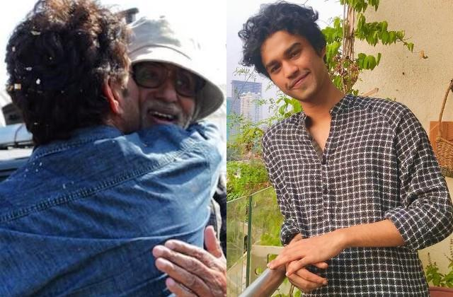 babil khan shares unseen photo of father irrfan khan with amitabh bachchan