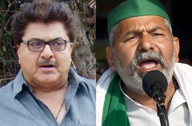 ashoke pandit targets rakesh tikait on farmer protest