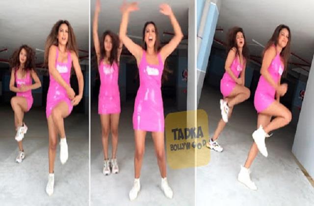 nia sharma shares dance video with friend