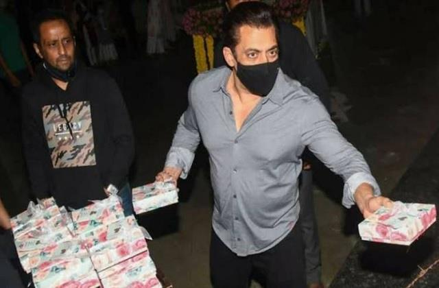 salman khan donate 3 75 crore rupees to 25 daily wage workers