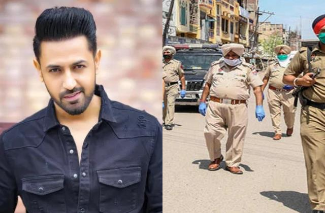 gippy grewal arrested patiala booked for shooting during weekend lockdown