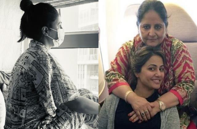 covid positive hina khan feel helpless as she not able to comfort her mother