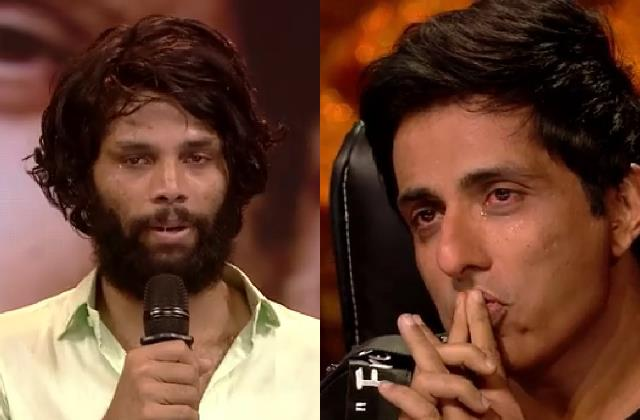 sonu sood promised dance deewana contestant to give ration in his village