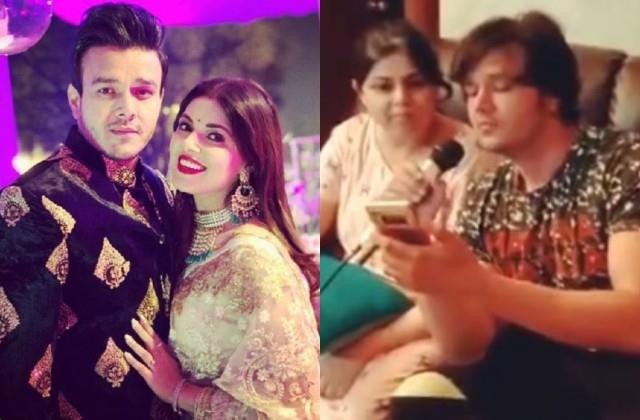 aniruddh dave wife shubhi ahuja shares videos of him singing asks fans to pray