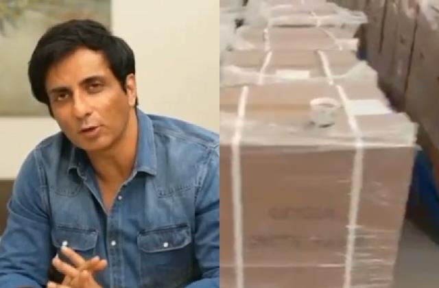 sonu sood said call this number and oxygen concentrator reach your home free