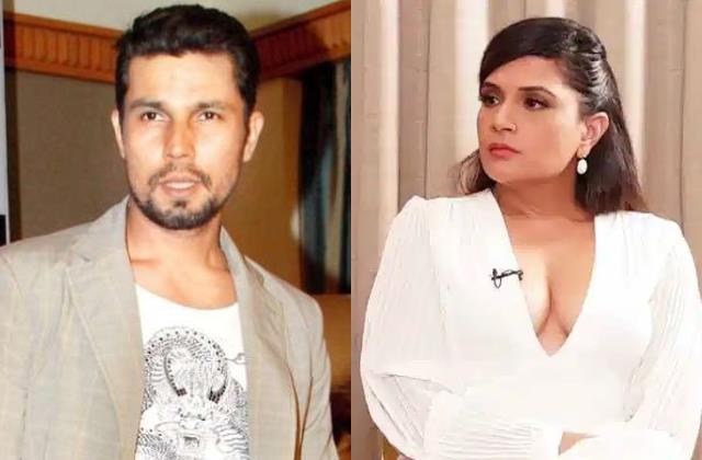 randeep hooda mayawati joke controversy user slammed richa taapsee swara