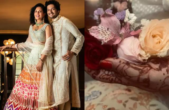 ali fazal shares mehndi pictures fans said is he tie a knot with richa chaddha