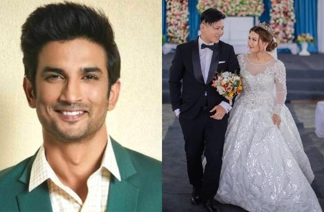 sushant singh rajput ex flatmate samuel haokip married his girlfriend