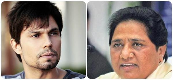 actor randeep hooda surrounded criticisms against mayawati speaking dirty