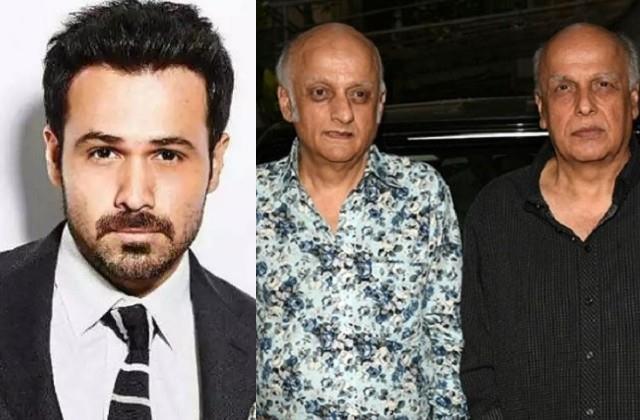 emraan hashmi reveals about separation of mahesh and mukesh bhatt