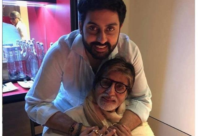 abhishek bachchan responds to user who said he is better than amitabh bachchan