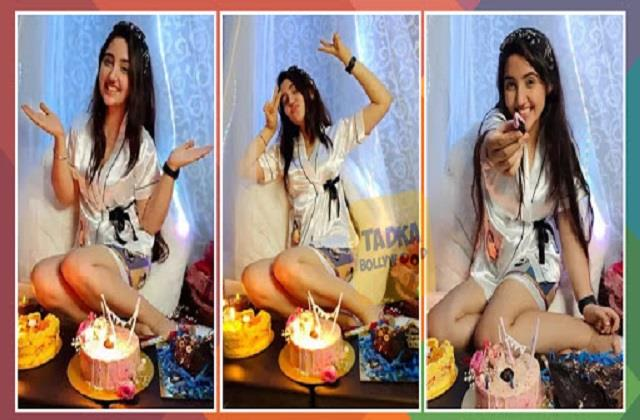 ashnoor kaur celebrates her birthday photos viral