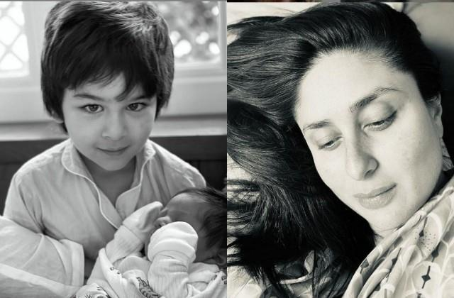 kareena kapoor share her both sons photo on mothers day