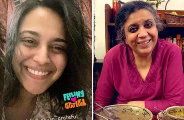 swara bhaskar mother recovered from covid19