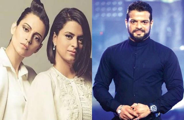 kangana sister rangoli chandel blasts on karan patel calls him nalla insaan