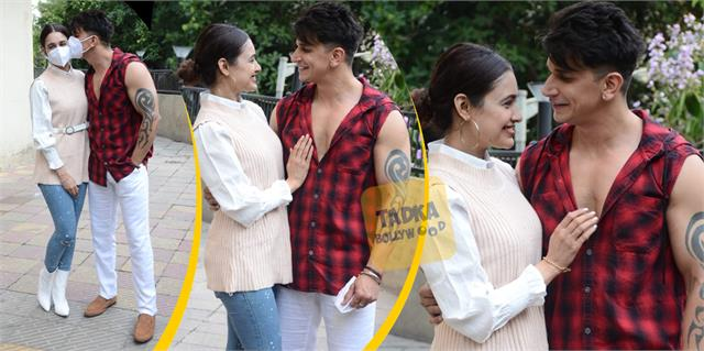 tv couple prince narula and yuvika chaudhary loving photos viral