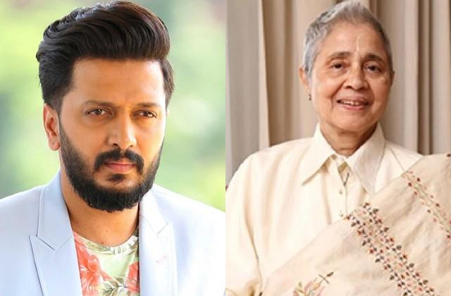 riteish deshmukh pays tribute to times group chairman indu jain death
