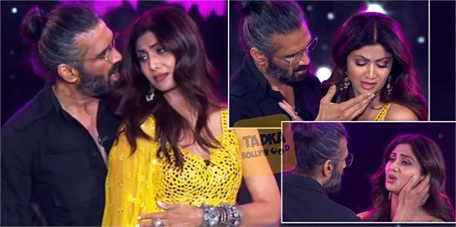 sunil shetty shilpa shettty perform on dhadkan iconic scene after 21 years