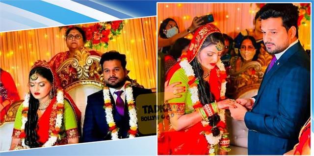 bhojpuri singer ritesh pandey engaged vaishali pandey