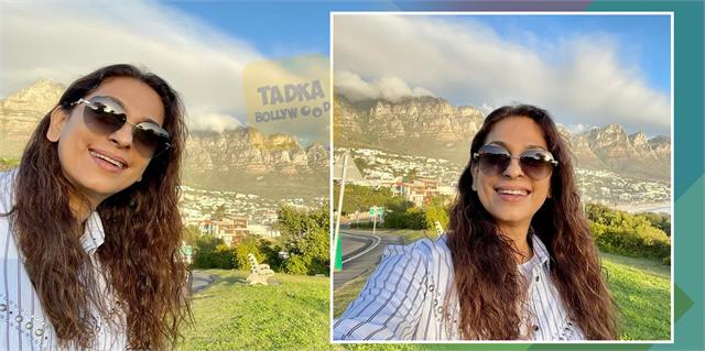 juhi chawla shares her beautiful photos from cape town