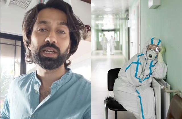 nakul mehta heartfelt poem on doctors who work selflessly during coronavirus