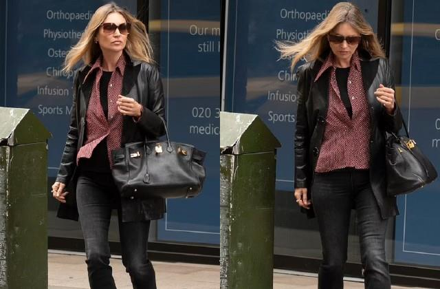 kate moss spotted in london