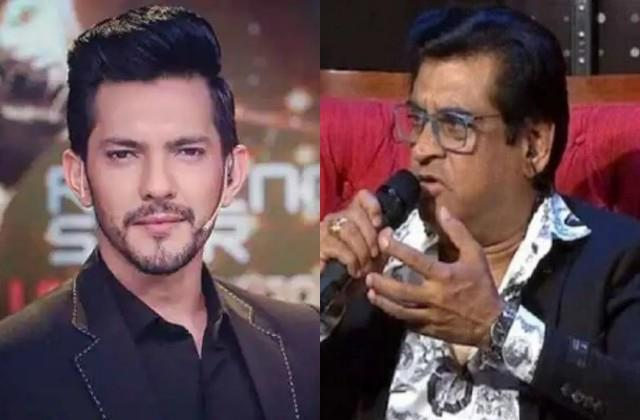 aditya narayan furious over amit kumar statement about indian idol 12