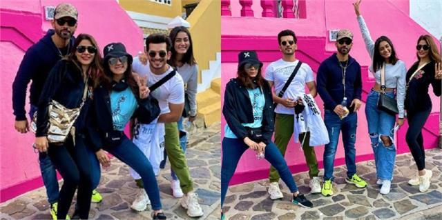 khatron ke khiladi11 contestants rahul arjun and nikki arrived in cape town