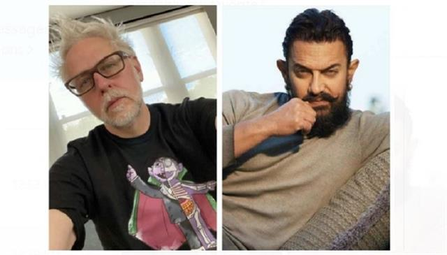 american film director james gunns fevourite film is aamir khan lagaan