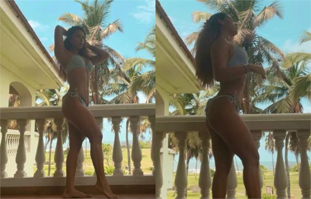 tiger shroff sister krishna shroff flaunts her curvy body in latest look