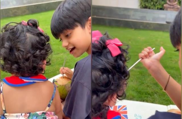 shilpa shetty shares adorable video of viaan and samisha on brother day