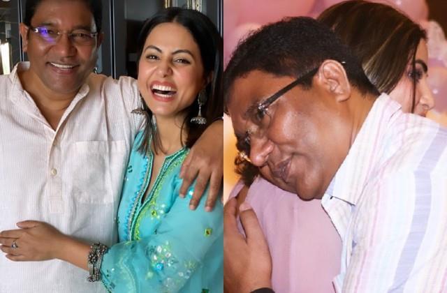 पिता के साथ तस्वीरें शेयर कर भावुक हुई हिना खान, बोली- मैं आपको बहुत मिस करती हूं डैडी