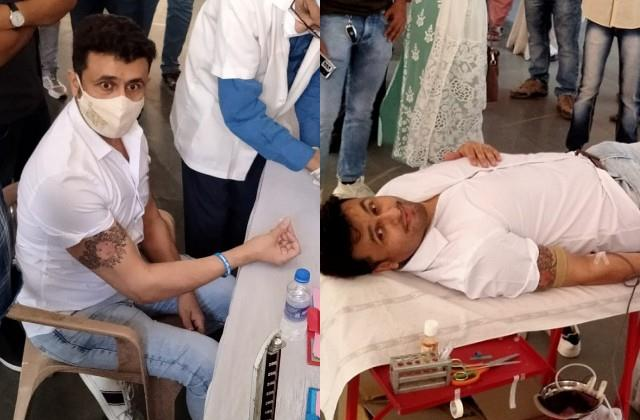 sonu nigam donate blood amid coronavirus