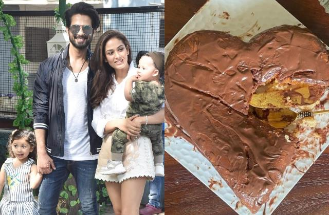 shahid kapoor children gave special gift to mira rajput on mother day