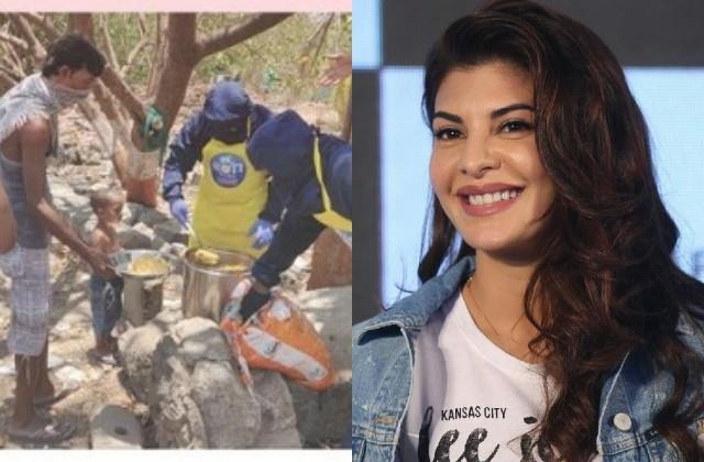 jacqueline came forward to help the needy amidst corona crisis