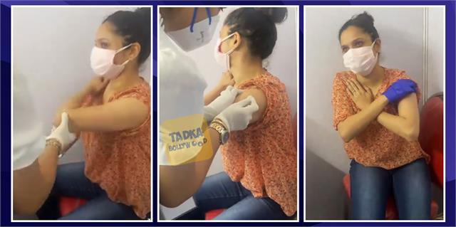 कोरोना वैक्सीन लगवाने पहुंचीं अंकिता के छूटे पसीने, लोग बोले- ये क्या नौटंकी है, बाहर लोगों तड़प रहे और इन्हें वीडियो....