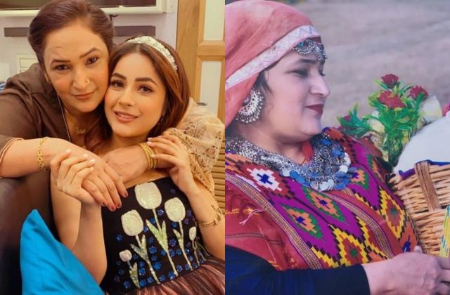 shehnaz gill adorable wish to their mother on mothers day