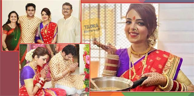 sugandha mishra do puja and make her first rasoi